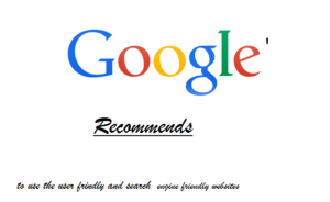 Google recommends